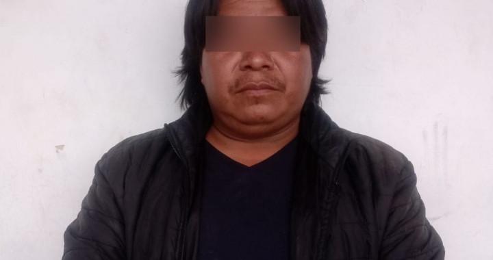 """Detienen a """"El Chincual"""",  presunto responsable de homicidios y robos"""