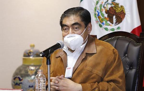 Mesa de diálogo entre gobierno de Puebla y Tlaxcala: Barbosa