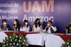 En Amozoc, se inaugura Igualdad Sustantiva Unidad de Atención a Mujeres