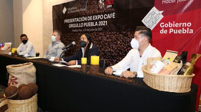SDR realizará segunda Expo Café Orgullo Puebla