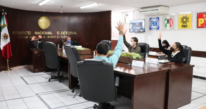 Arranca INE Puebla cómputos distritales de diputaciones federales