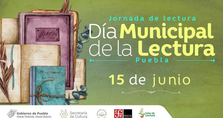 Secretaría de Cultura conmemorará el Día Municipal de la Lectura