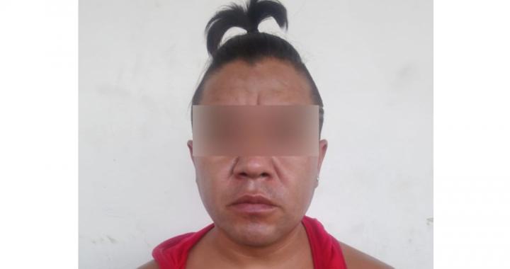 Capturan a presunto narcomenudista en la colonia Francisco Villa
