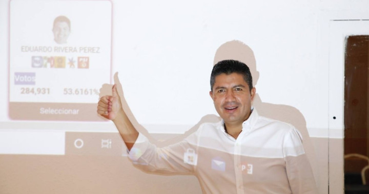 Obtiene Eduardo Rivera mayor número de votos