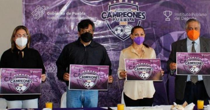 Lanzan Torneo de Campeones Puebla 2021