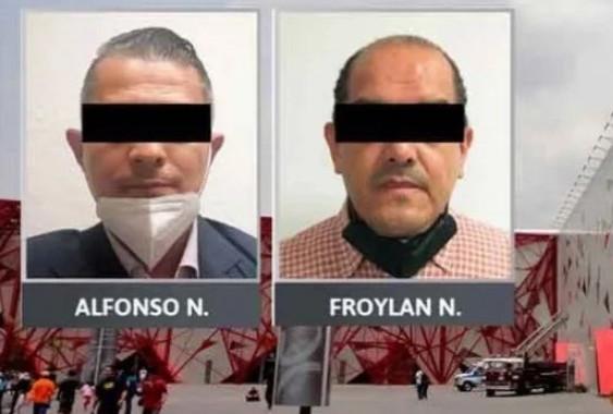 Capturan a dos morenovallistas por irregularidades en construcción del Centro Expositor