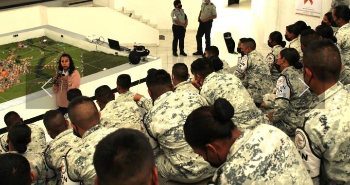 Igualdad Sustantiva capacita a Guardia Nacional en temas de género