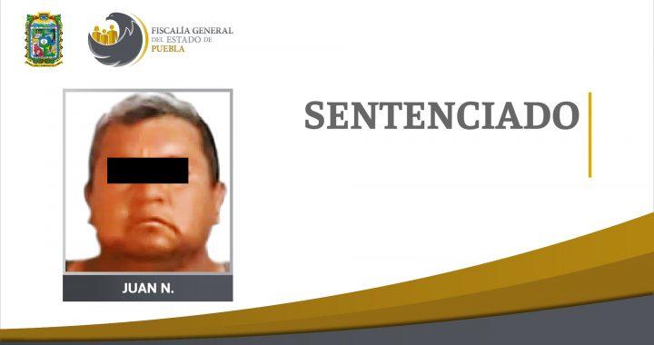 Condenan a 23 años de prisión a responsable de un homicidio en Tehuacán
