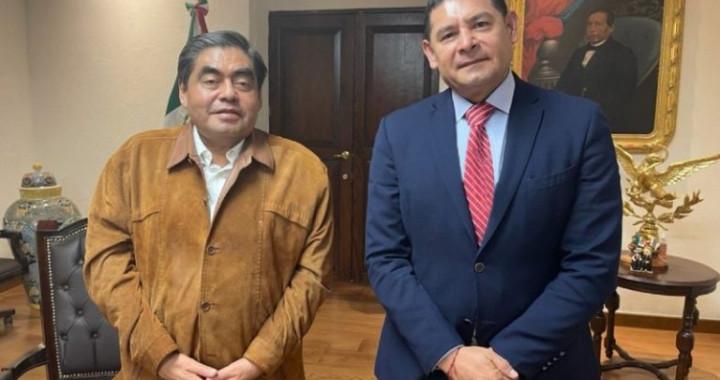 Barbosa Huerta y Armenta Mier se reúnen