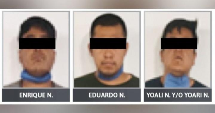 Vinculan a proceso a tres sujetos por homicidio en Santa María Moyotzingo