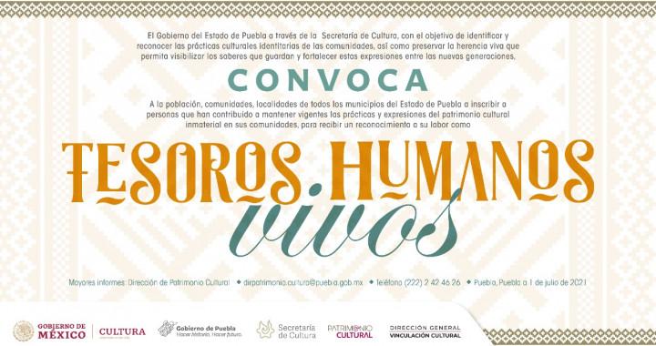 Lanzará Secretaría de Cultura convocatoria tesoros humanos vivos