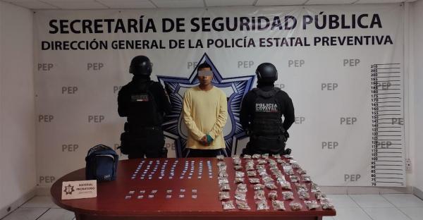 """Detienen a presunto vendedor de droga de """"Los Angelinos 13"""""""