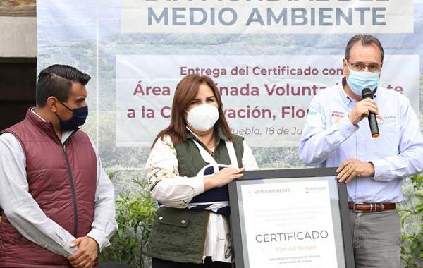 CONANP certifica a Flor del Bosque como Área de Conservación