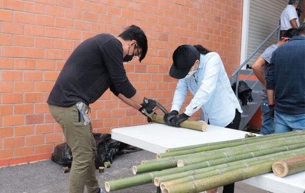 """Secretaría del Trabajo impulsa taller de """"Fabricación de Muebles de Bambú"""""""