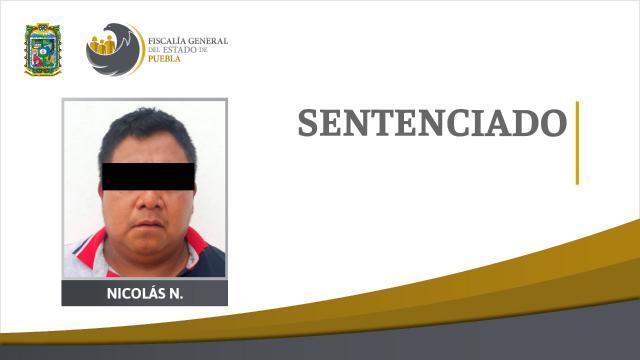 Fiscalía obtiene 40 años de cárcel contra feminicida de Coyomeapan