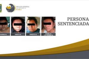 Otorgan 50 años de prisión a cuatro secuestradores