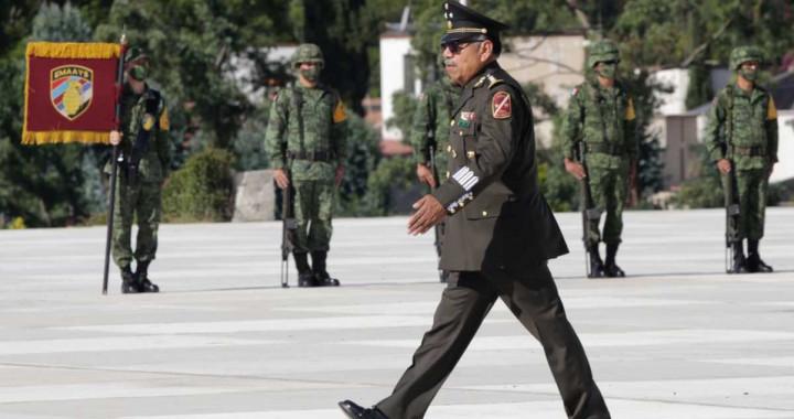 Acude gobernador a la toma de protesta del comandante Gerardo Mérida