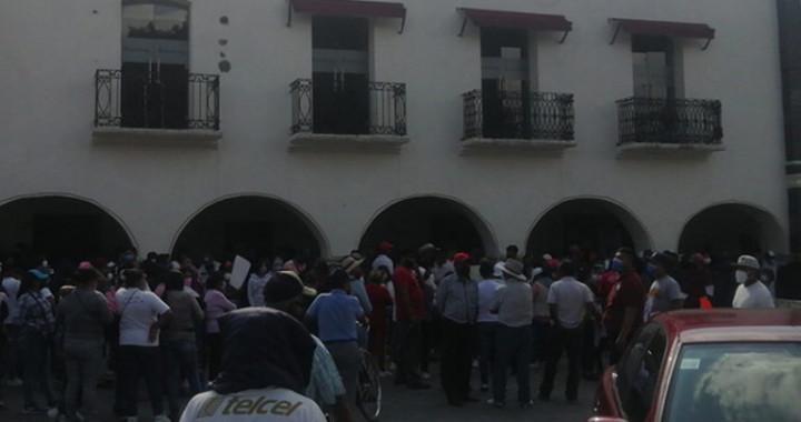 Se rebelan habitantes en la presidencia de Huejotzingo; acusan fraude electoral