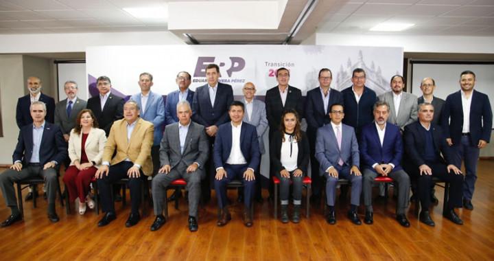 Lidera Eduardo Rivera Comisión Permanente por Puebla