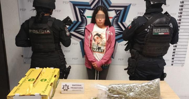 Atrapan a presunta narcovendedora en Bella Vista
