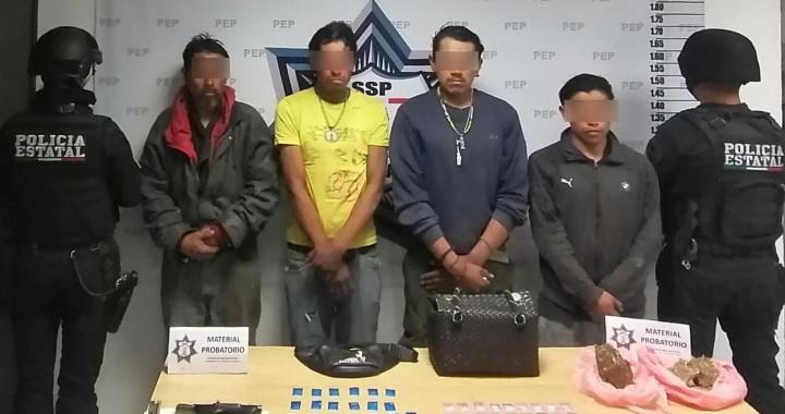 Detienen a presunta banda dedicada al robo en transporte público