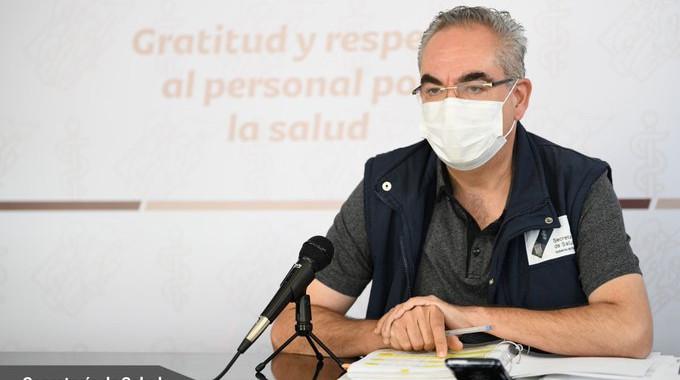 Crece 8.83% hospitalización por COVID-19: Salud