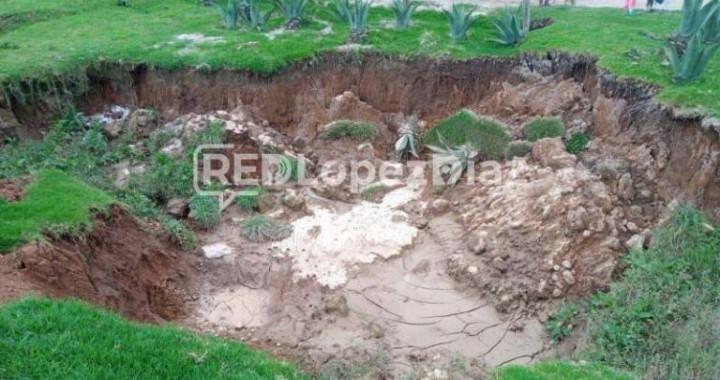 No hay nuevo socavón en Ahuazotepec: Hill Mayoral