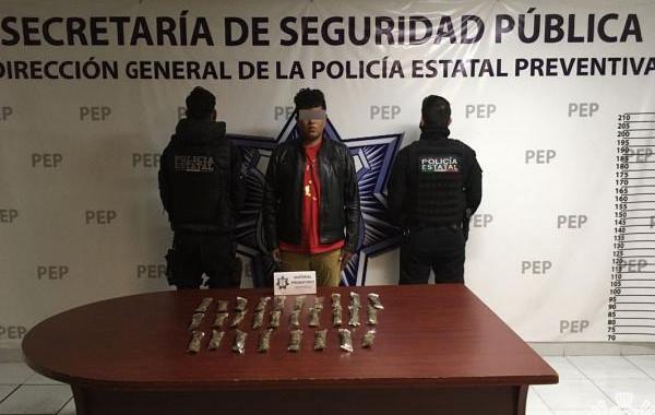 Capturan a presunto distribuidor de droga