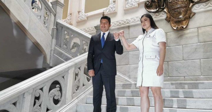 Se reunirán Eduardo Rivera y Claudia Rivera el 15 de julio