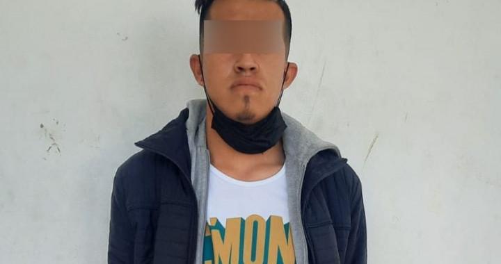 Detiene SSP a presunto narcovendedor originario de Hidalgo