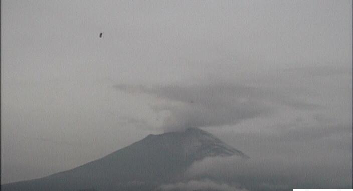 Registra Popocatépetl 98 exhalaciones y un un sismo volcanotectónico