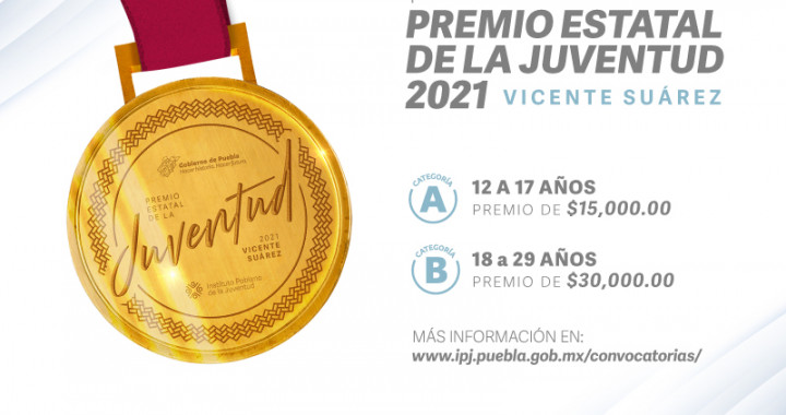 """Presentan convocatoria para Premio Estatal de la Juventud """"Vicente Suárez 2021"""""""