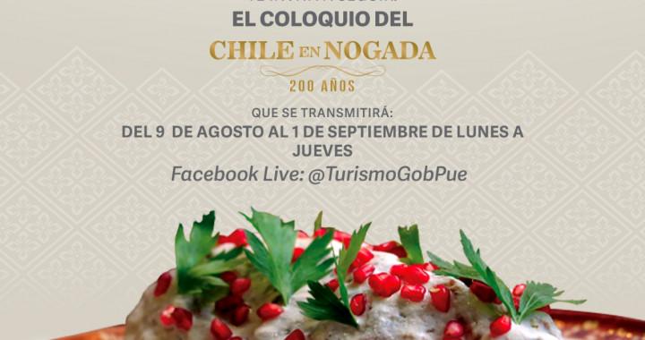 Turismo organiza coloquio virtual del Chile en Nogada
