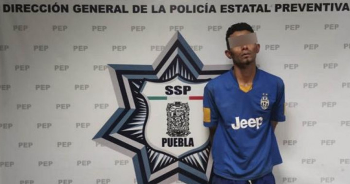 Capturan a asaltante de transporte público en la México-Puebla