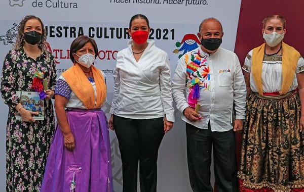 """Lanza Cultura muestra """"Atlixcayotontli"""" 2021"""