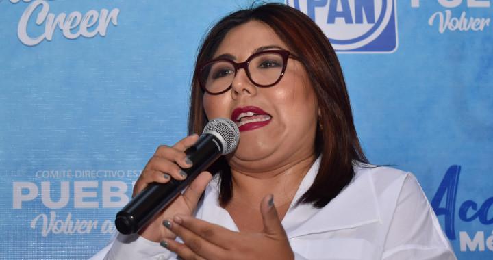 Defenderemos el presupuesto para rescatar Puebla: Genoveva Huerta