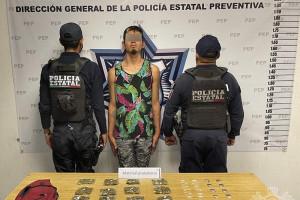 """Capturan a presunto distribuidor de drogas de """"El Pelón del Sur"""""""