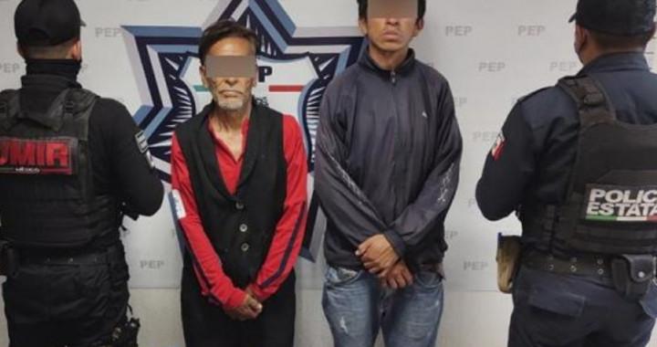 Capturan a dos presuntos distribuidores de droga en el Centro