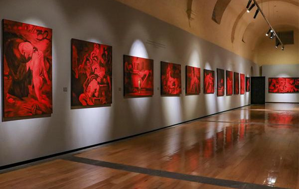 """Inaugura Cultura exposición """"Los 43 y el dolor a través del arte"""""""