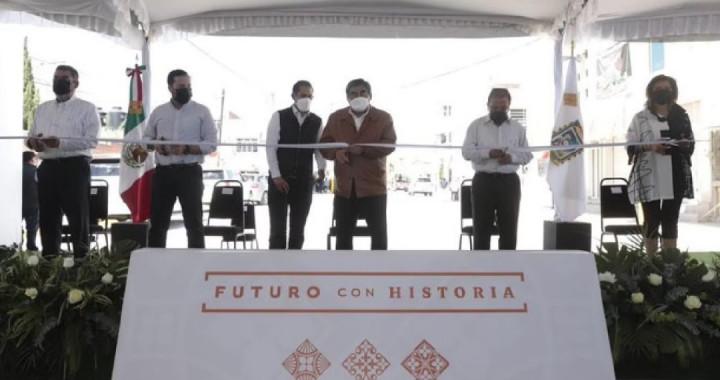 Inaugura Barbosa primera etapa de vialidades en Tepeaca