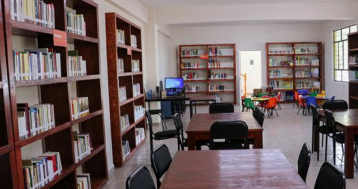 Cultura inaugura Biblioteca Pública en Azumbilla