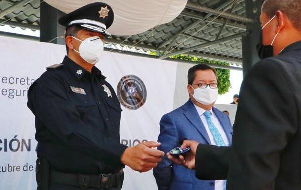 Finalizan agentes de la Policía Estatal curso de profesionalización
