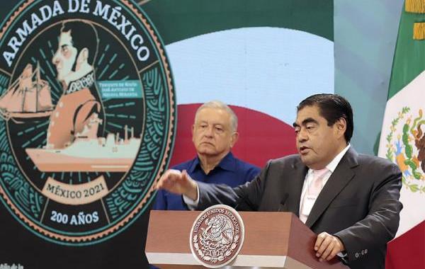 Puebla combate la delincuencia, de manera coordinada con la federación: Barbosa Huerta
